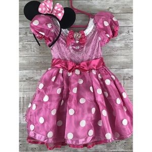 Disney Minnie Mouse Halloween Costume size 3T